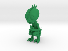 Chupacabra in Green Strong & Flexible Polished