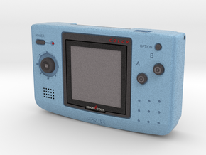 1:6 SNK NGPC (Blue) in Full Color Sandstone