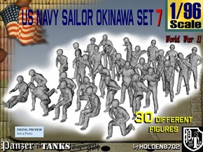 1/96 US Navy Okinawa Set 7 in Frosted Ultra Detail