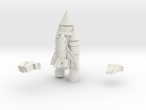 Space Shuttle in White Strong & Flexible