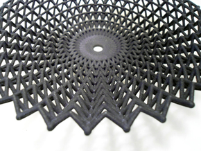 Lace Dish in Black Strong & Flexible