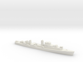 Le Normand-class frigate, 1/1800 in White Strong & Flexible