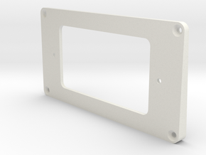 WRHB to Uncovered Humbucker Mounting Ring - Neck in White Strong & Flexible