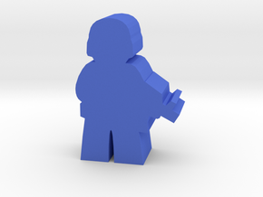 Game Piece, Blue Force Soldier in Blue Strong & Flexible Polished