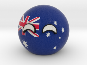 Countryball Australia in Full Color Sandstone