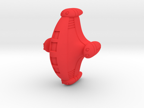 ARN spaceship in Red Strong & Flexible Polished