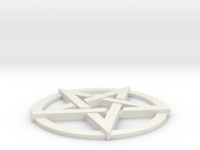 Pentacle in White Strong & Flexible