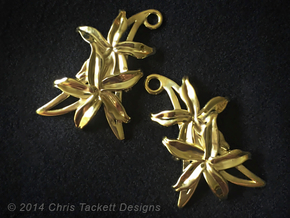 Sampaguita Earrings in 14K Gold