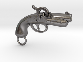Philadelphia Derringer Small in Polished Nickel Steel