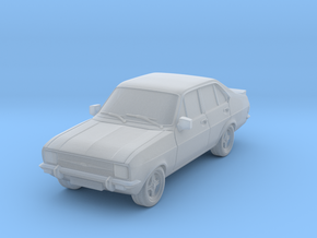 1:87 escort mk 2 4 door rs square headlights hollo in Frosted Ultra Detail