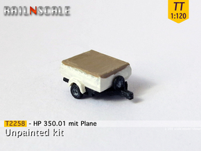 HP 350.01 mit Plane (TT 1:120) in Frosted Ultra Detail