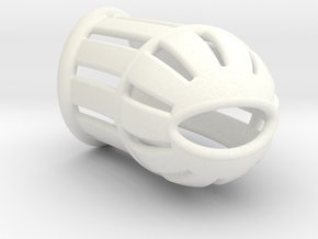 L095-A01W in White Strong & Flexible Polished