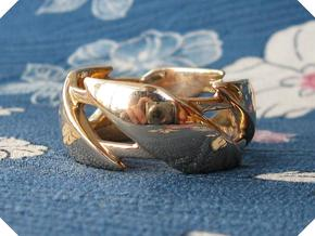US9 Ring III in Polished Bronze
