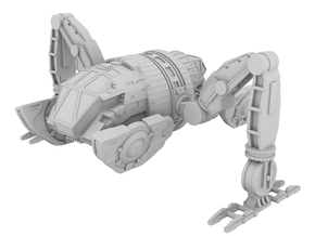 1:200 - Space Pod [Independence Day - Resurgence] in White Strong & Flexible
