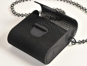 Woven Purse in Black Strong & Flexible