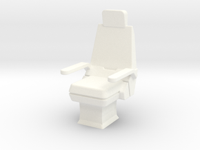 CP07A Command Chair (1/18) in White Strong & Flexible Polished