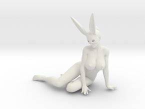 Bunny lady 011 1/10 in White Strong & Flexible