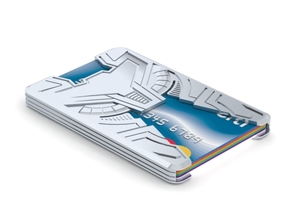 """Sliminal """"Varia"""" (6 Cards) in White Strong & Flexible"""