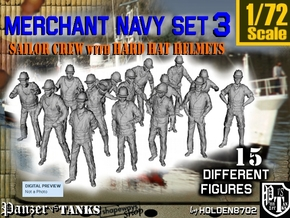 1-72 Merchant Navy Set 3 in Frosted Ultra Detail