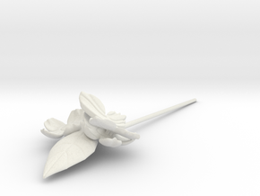 FLEURISSANT Hairpin in White Strong & Flexible