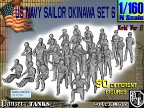 1/160 US Navy Okinawa Set 6 in Frosted Ultra Detail