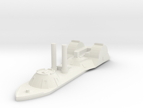 USS Choctaw 1/600 in White Strong & Flexible