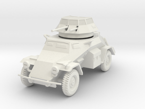 PV133D Sdkfz 222 Armored Car (1/56) in White Strong & Flexible