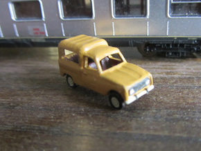 Renault 4 van in 1:160 scale (Lot of 4 cars) in Frosted Ultra Detail