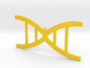 DNA necklace in Yellow Strong & Flexible Polished