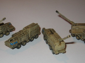 A-222 Bereg Costal Battery 2 1/285 6mm in Frosted Ultra Detail