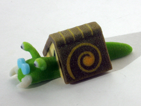 Book Snail in Full Color Sandstone