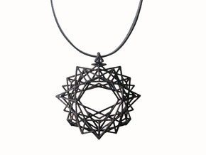 Pendant_top in Black Strong & Flexible