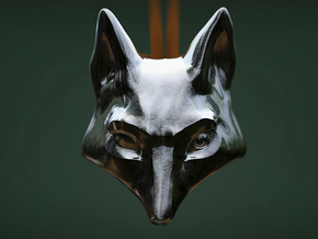 Foxhead Medallion in Stainless Steel