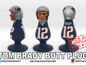 Tom Brady plug in Full Color Sandstone