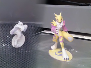 Renamon 18cm in Full Color Sandstone
