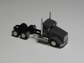 1:160 N Scale Kenworth T800 DaycabTractor x2 in Frosted Ultra Detail