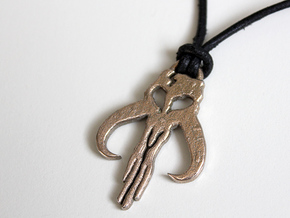 Mythosaur Skull Pendant in Stainless Steel
