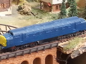 """Class 55 """"Deltic"""" Z 1:220 in Frosted Ultra Detail"""