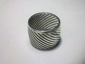 RING AROUND size 52 (S) in Polished Silver