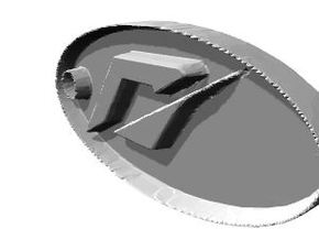 Need For Speed Dog Tag  in White Strong & Flexible