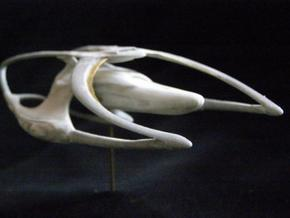 13 cm Heritage class warship in White Strong & Flexible