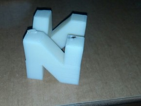 N64 Logo in White Strong & Flexible