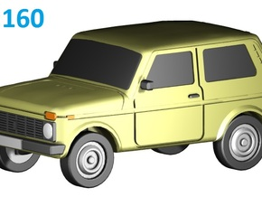 Lada-Niva (N, 1:160) in Frosted Ultra Detail