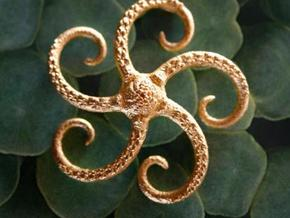 Starfish pendant in Frosted Ultra Detail