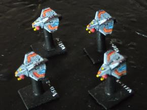 VA101A Void Sting Scoutship (x 4) in White Strong & Flexible
