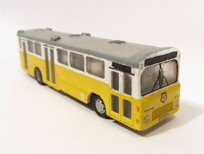 Volvo B10m HT Bus 2-2-1 N scale in Frosted Ultra Detail