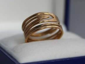 RING Nº2 Size 7 in Polished Brass