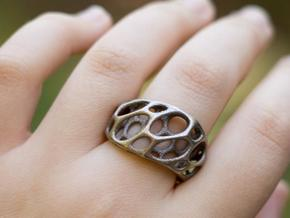 2-Layer Twist Ring in Stainless Steel
