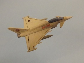 1/285 (6mm) Eurofighter Typhoon Ordnance II in White Strong & Flexible