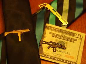 G36 MONEY/TIE CLIP in Stainless Steel